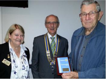 Al Morris Rotary award