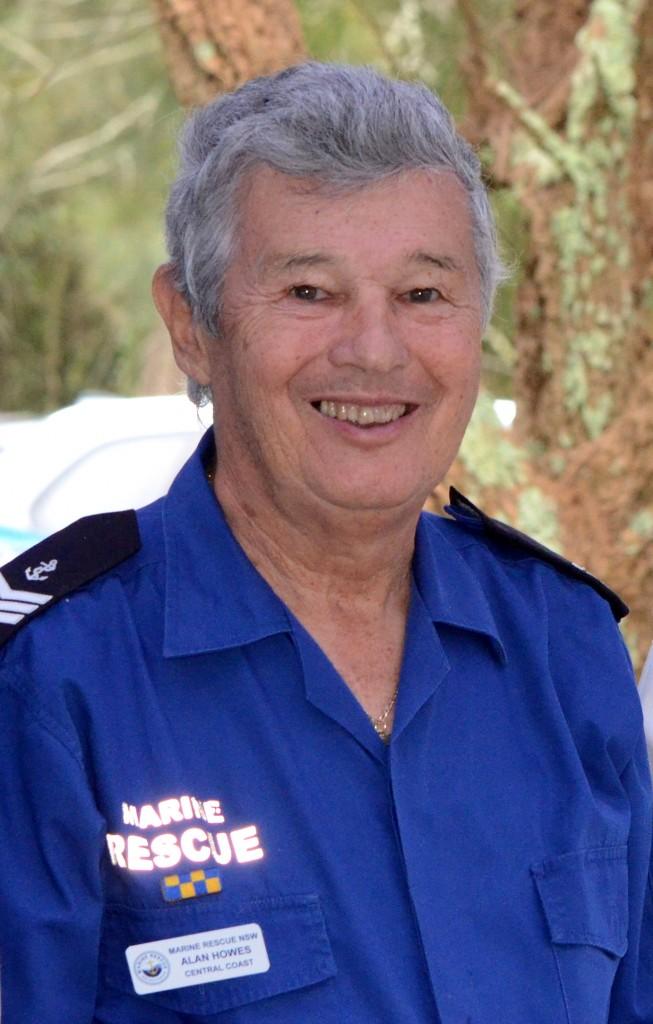 Marine Rescue Skipper Alan Howes