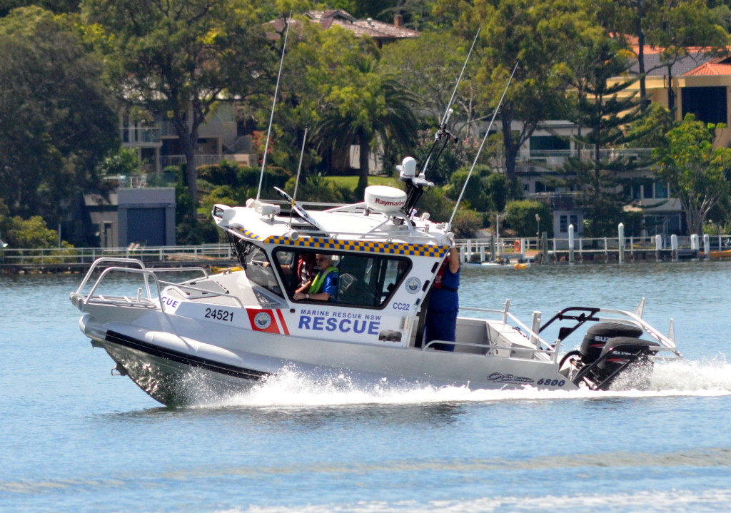 Stock Photo of rescue vessel Central Coast 22