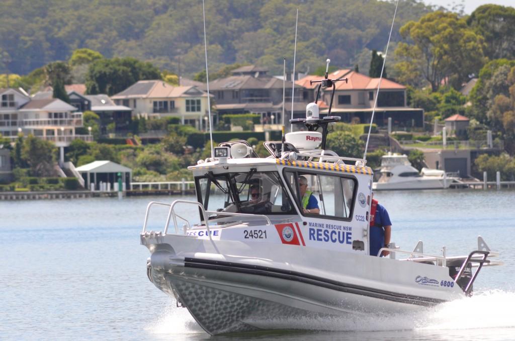 Marine Rescue Centra Coast Rescue Vessel Central Coast 22